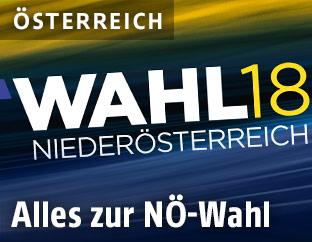 ORF-Logo zur Landtagswahl in Niedersösterreich
