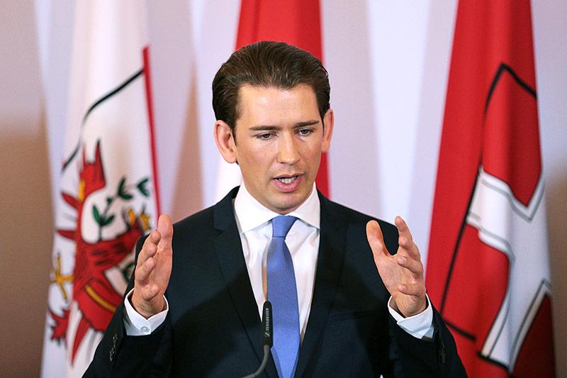 Bundeskanzler Sebastian Kurz