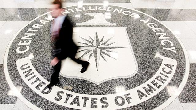 Innenaufnahme der CIA-Zentrale in Langley, Virginia (USA)