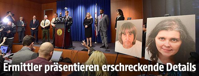 Pressekonferenz der Ermittler