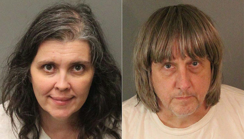 Verhaftetes Ehepaar