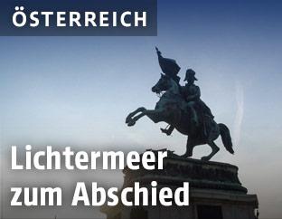 Prinz-Eugen-Reiterdenkmal am Heldenplatz