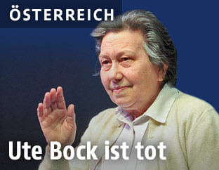 Flüchtlingsbetreuerin Ute Bock