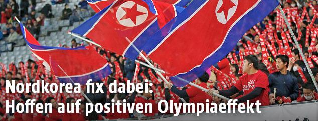 Fans von Nordkorea