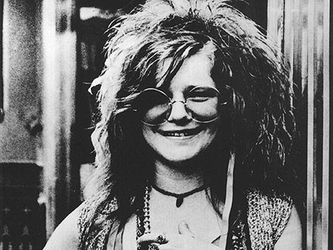 Portraet von Janis Joplin aus dem Jahr 1970