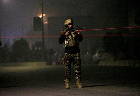 Afghanischer Sicherheitsbeamter