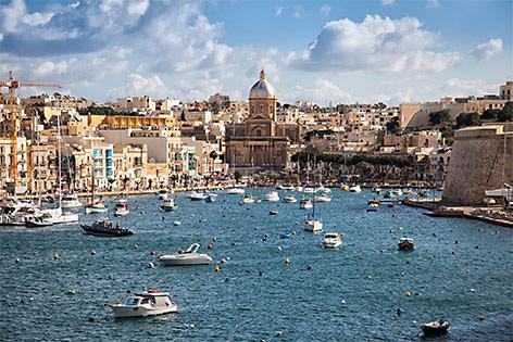 Hafen von Valletta