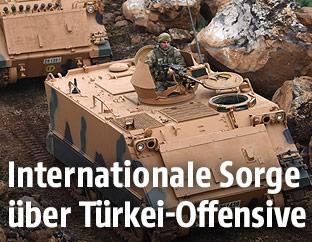 Türkische Truppenpanzer