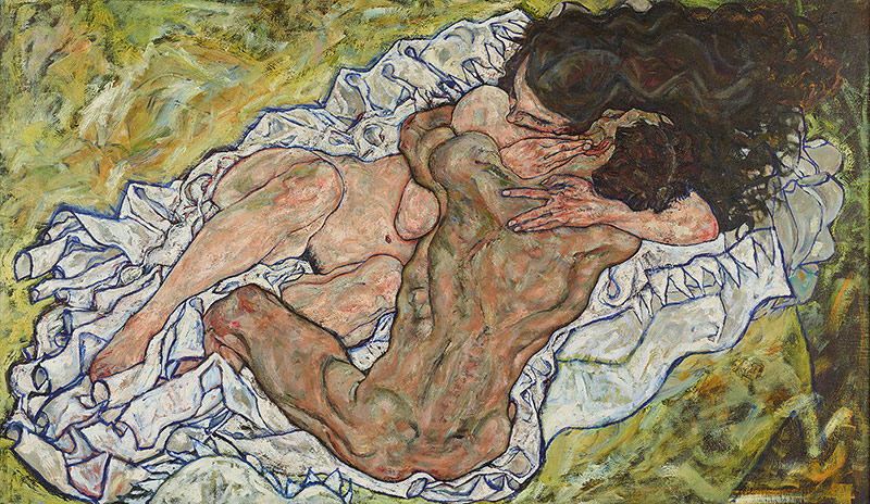 "Egon Schiele: ""Die Umarmung"", 1917"