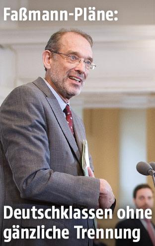 Bildungsminister Heinz Fassmann