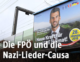 Wahlplakat der FPÖ-Niederösterreich