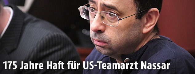 US-Arzt Larry Nassar