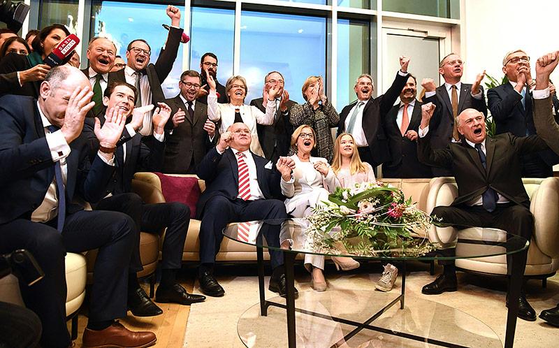 Jubel bei der ÖVP