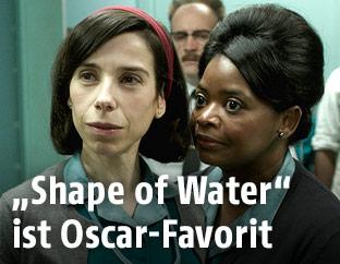 "Filmszene  aus ""The Shape of Water"""