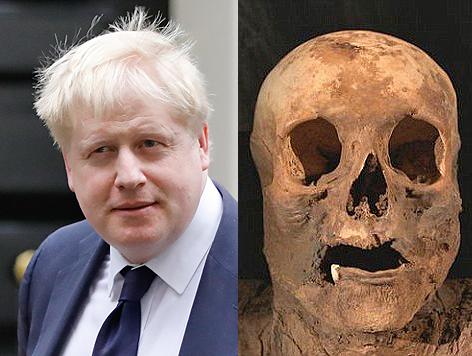 Boris Johnson stammt von Mumie aus Basel ab
