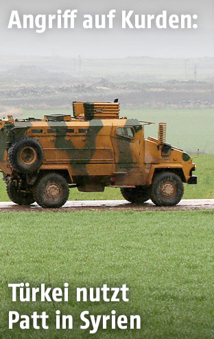 Türkisches Militär in Syrien