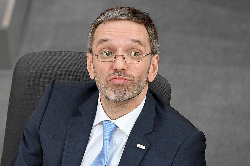 Innenminister Herbert Kickl