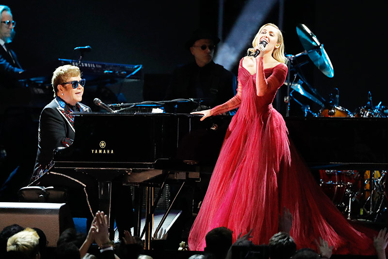 Elton John und Miley Cyrus
