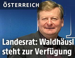 FPÖ-NÖ-Klubobmann Gottfried Waldhäusl