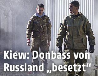 Russische Separatisten in der Ostukraine