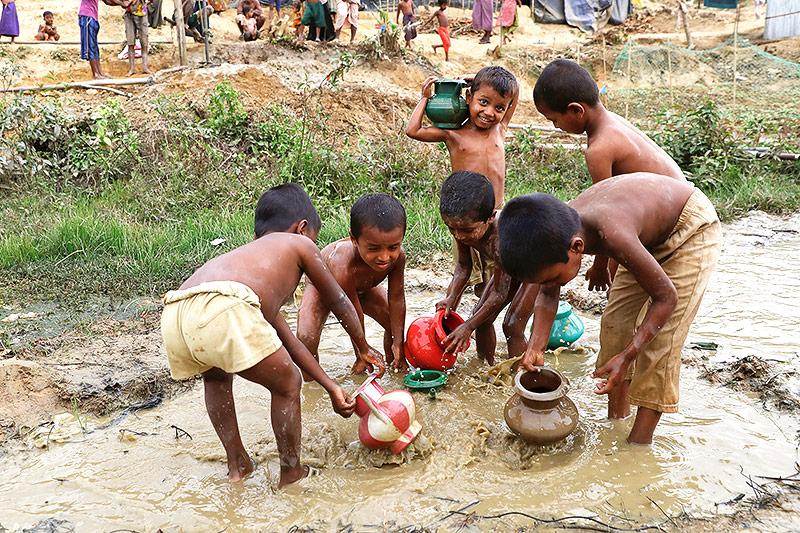 Rohingya-Kinder