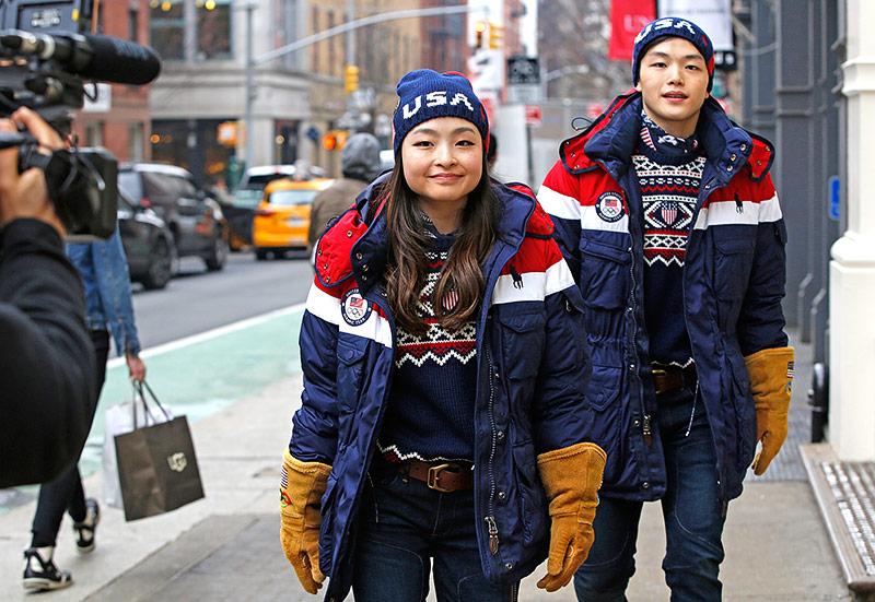 Eistänzer Maia und Alex Shibutani