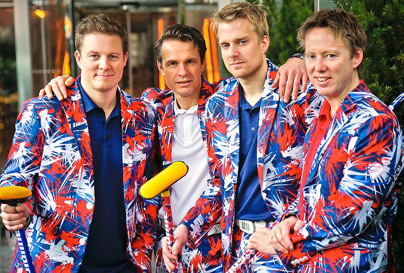 Norwegisches Olympia-Curling-Team