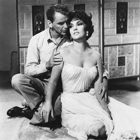 Frank Sinatra und Gina Lollobrigida