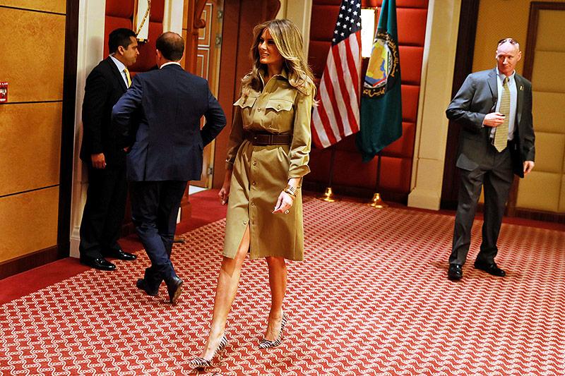 US-First-Lady Melania Trump