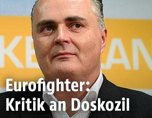 Der Ehemalige Verteidigungsminister Hans Peter Doskozil