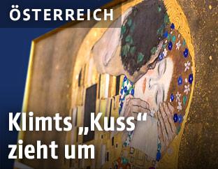 """Der """"Kuss"""" von Gustav Klimt"""