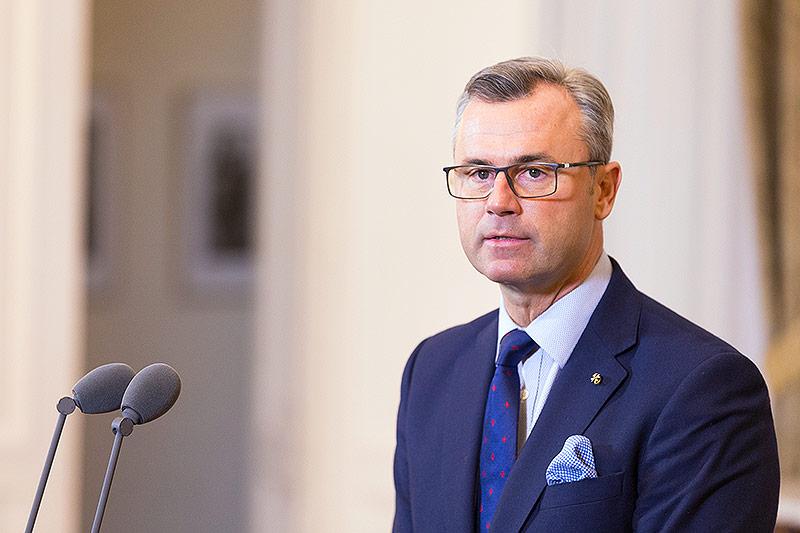 Infrastrukturminister Norbert Hofer (FPÖ)