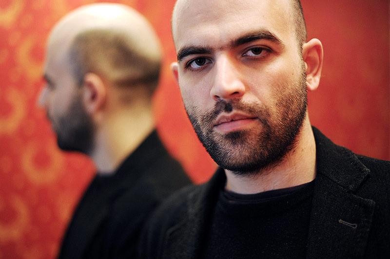 Der italienische Autor Roberto Saviano
