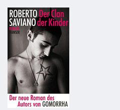 """Buchcover von Roberto Savianos """"Der Clan der Kinder"""""""
