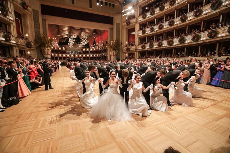 Impressionen vom Wiener Opernball