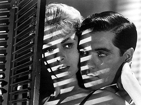 Janet Leigh und John Gavin in Psycho