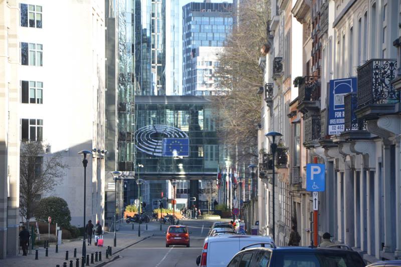 EU-Zentrum in Brüssel