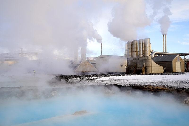 Svartsengi Geothermie Kraftwerk