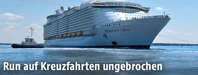 "Kreuzfahrtschiff ""Harmony of the Seas"""