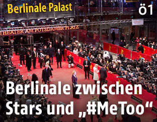Red Carpet während der Berlinale