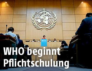 Vortrag im WHO-Hauptquartier