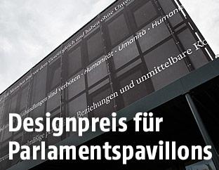 Ausweichquartier des Parlaments