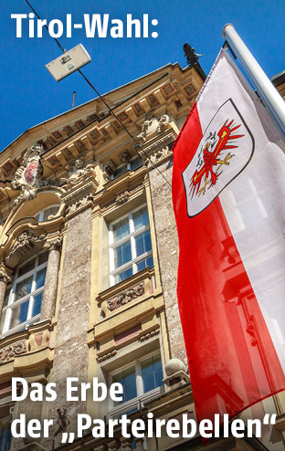Das alte Landhaus in Innsbruck