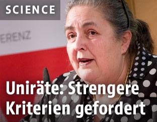 Die Präsidentin der Universitätenkonferenz Eva Blimlinger