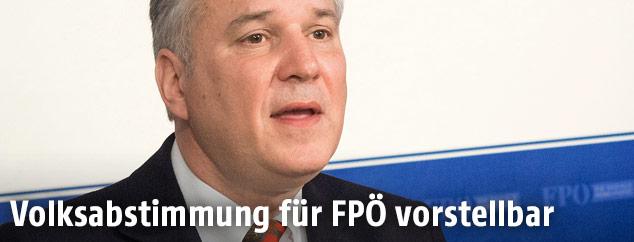 FPÖ-Klubchef Walter Rosenkranz