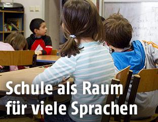 Kinder in der Schulklasse