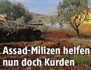 Panzer in Syrien