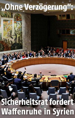 Abstimmung des UNO-Sicherheitsrats