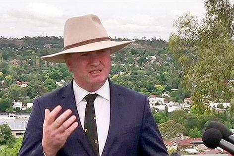 Australiens stellvertretender Premierminister Barnaby Joyce