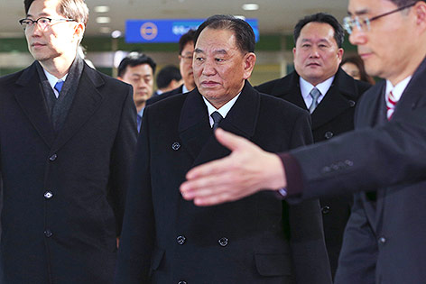 Der nordkoreanische General Kim Yong Chol